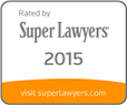 Super Lawyers 2015 Badge